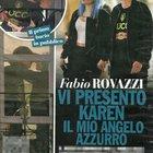 Fabio Rovazzi con la nuova fidanzata Karen Rebecca Casiraghi (Chi)