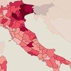 Bboom Lombardia e Sicilia. Belluno, Rieti e Messina le province più colpite