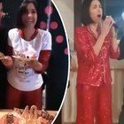Caterina Balivo compie 40 anni, canti e balli sfrenati fino a tarda notte