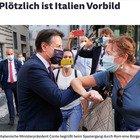 «All'improvviso l'Italia è un modello», anche la Germania ci elogia per la lotta al Covid. Ma per i tedeschi si tratta di «una svolta non prevedibile»