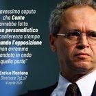 Conte, frecciata di Mentana: «Niente diretta tv se avessimo saputo dell'uso personale della conferenza stampa». Salvini applaude
