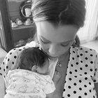 Silvia Provvedi, primo Natale da mamma: «La vita dedicata a Nicole. Il mio compagno mi manca da morire, nessuno ci dividerà»