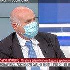 Ippolito (Spallanzani) ad Agorà con la mascherina: «Il virus circola, paghiamo i bagordi dell'estate»