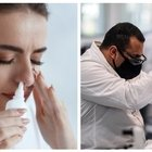 Spray nasale anti Covid, al via i primi test sull'uomo a Genova