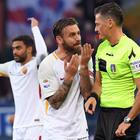 Roma, De Rossi squalificato due turni per lo «schiaffo» a Lapadula