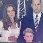 William, Kate Middleton e baby George a Wembley, dalle risate alla tristezza finale: «Cuore a pezzi»