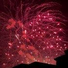 Benarrivato 2021, i fuochi d'artificio su Roma prenestina