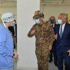 Vaccinazione, la visita del generale Figliuolo in Abruzzo (foto Max)