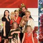 Il Natale dei vip, da soli o in famiglia gli auguri ai follower sui social: da Fedez-Ferragni alla Hunziker, le foto delle feste