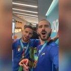 Bonucci e Jorginho, It's coming Rome