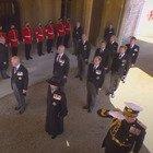 Il corteo in abiti civili a causa del principe Harry: l'incontro con il fratello William