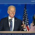 """Usa 2020, Biden: """"Mantenete la fiducia, vinceremo"""""""