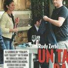 Rudy Zerbi con la moglie Maria Soledad Temporini a Roma (Novella2000)
