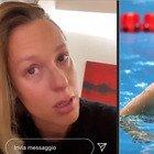 Federica Pellegrini positiva al coronavirus, l'annuncio in lacrime su Instagram: «Molti dolori dopo l'allenamento...»