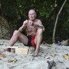 Isola 2021: incidente per Paul Gascoigne: «Si è fatto male ad una spalla, è con i medici»