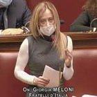 """Meloni cita Brecht in Aula: """"Da parte del torto perché altri posti occupati"""""""