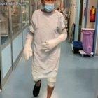 Gianni Morandi dall'ospedale ringrazia i medici: «Sono stato veramente fortunato»