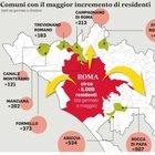 Romani in fuga dalla città: «Più sicuri nei paesi». Boom di nuovi residenti nei borghi