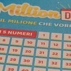 Million Day, numeri vincenti di domenica 15 settembre 2019