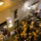 Napoli zona gialla, maxi assembramento nelle strade della movida