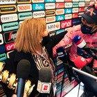 """Tonina Pantani incontra Egan Bernal: """"E' come abbracciare un figlio"""""""
