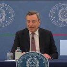 """Green Pass, Draghi: """"Importante ma miglioriamo grazie vaccino"""""""