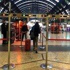 Coronavirus, fermati alla stazione Centrale di Milano viaggiatori diretti al Sud