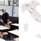Italia, 80 scuole chiuse (22 a Roma)