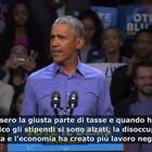 Video Obama: «Boom dell'economia merito mio»