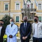 Covid, i calciatori della nazionale allo Spallanzani per il vaccino