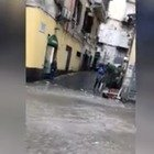 Bomba d'acqua su Napoli VIDEO