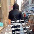 Francesco Totti realizza il suo sogno: cammina in centro a Roma e nessuno lo riconosce
