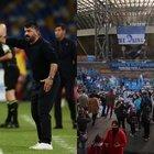 Napoli, Gattuso: «Giusti i tributi a Maradona, ma troppa gente senza mascherina: dobbiamo fare i bravi»
