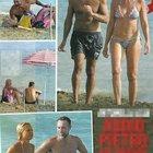 Antonella Elia e Pietro Delle Piane insieme al mare (Chi)