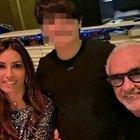 Elisabetta Gregoraci, Natale con l'ex Flavio Briatore e il figlio Nathan Falco a Dubai