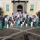 Capodanno in prima linea: gli auguri dei medici dell'ospedale Spallanzani