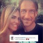 Francesco Totti e gli auguri a Ilary Blasi che compie 39 anni: «Auguri amore mio»