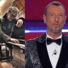 Sanremo 2021, Amadeus risponde alle accuse di Morgan: «Ha detto cose non vere, e sugli insulti è meglio che ...»