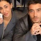 Belen Rodriguez discute col fidanzato Antonio Spinalbese, poi vede i paparazzi e rincorre i carabinieri...