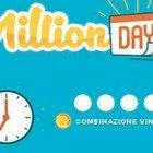 MillionDay, i cinque numeri vincenti di mercoledì 7 luglio