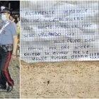 «Non potete fare sesso tutta la notte urlando»: a Frascati il biglietto di proteste sulle mura di un palazzo