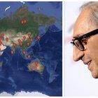 Dal Tennessee a Alexanderplatz: su Google la mappa con tutti i luoghi citati nelle sue canzoni