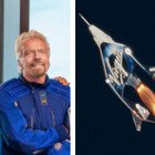 Richard Branson volerà nella spazio l'11 luglio con la Virgin Galactic battendo Jeff Bezos di Blue Origin e Amazon. Presto toccherà agli italiani. Video