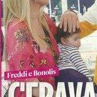 Paolo Bonolis incontra l'ex Laura Freddi con la figlia Ginevra