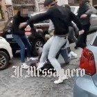 Rissa-choc a Trastevere