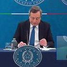 """Covid, Draghi: """"Riaperture? Dipenderà dai dati"""""""