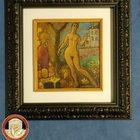 """""""Nudino femminile"""", il quadro rubato durante la guerra trovato dai Carabinieri e restituito alla Galleria d'arte moderna"""