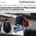 Philadelphia come New York e Detroit: le foto choc delle salme trasportate su un pick-up