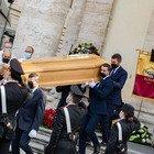 Gigi Proietti, i funerali in Piazza del Popolo (foto Davide Fracassi/Ag.Toiati)