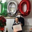 Coronavirus, Corradino finisce cento anni e torna negativo nel giorno del compleanno